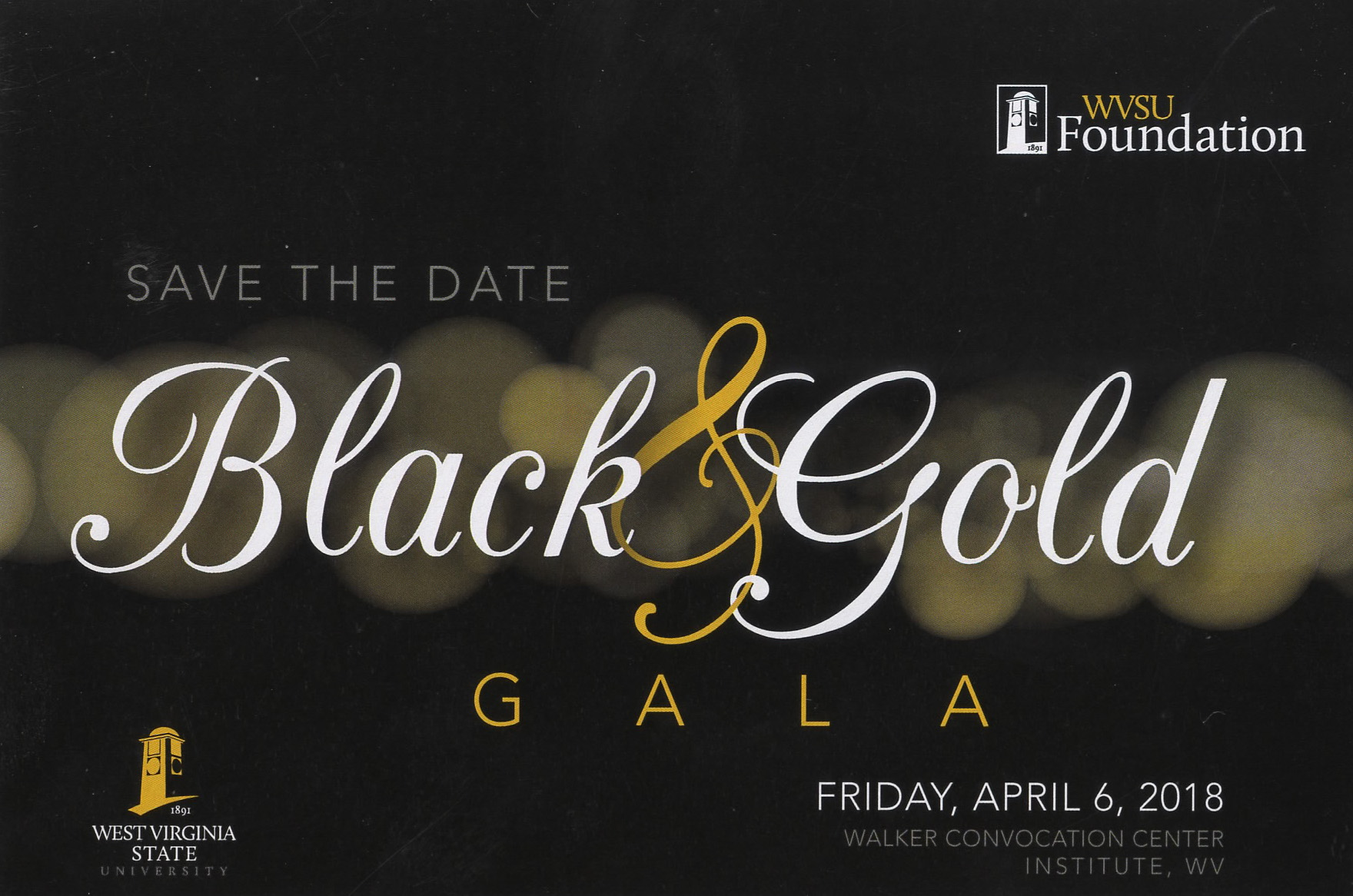 Black & Gold Gala logo